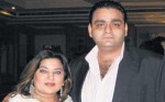 Dolly Bindra with husband