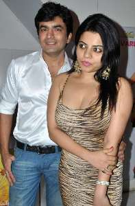 Raja Chaudhary with Shraddha Sharma