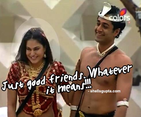 Veena Malik and Hrishant Goswami