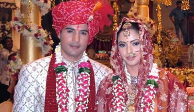Aamna Sharif and Rajeev Khandelwal